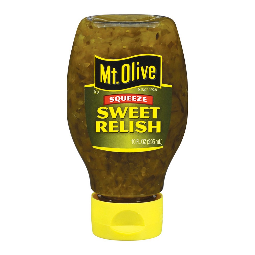 Mt. Olive Sweet Relish Squeeze Bottle - 10oz