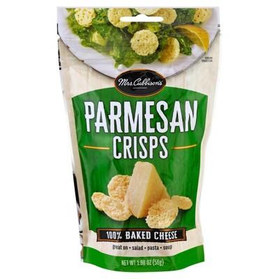 Mrs. Cubbison's Parmesan Cheese Crisps - 1.98oz