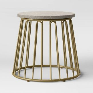 Metal Patio Table - Gold - Opalhouse™