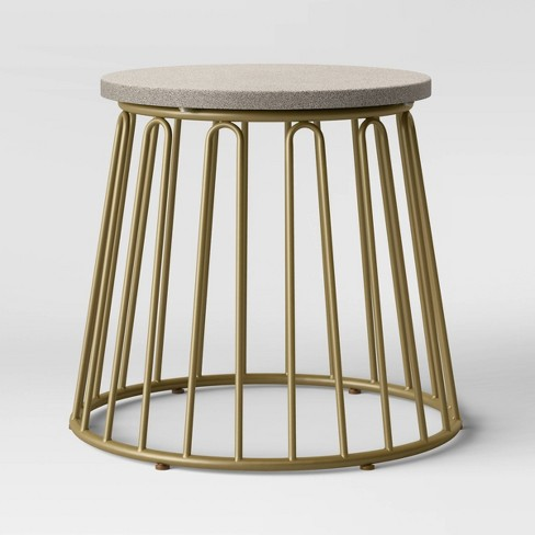 Metal Patio Table - Gold - Opalhouse™ - image 1 of 2