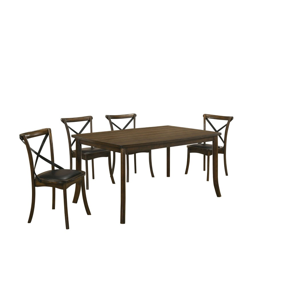 Best 5pc Somers Dining Set Oak - HOMES: Inside + Out