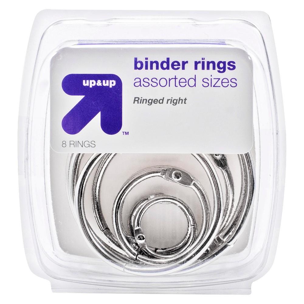 Image of Binder Rings 8ct - Up&Up