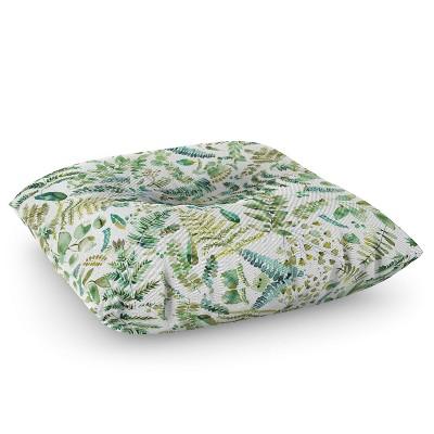 Ninola Design Botanical Collection Square Floor Pillow - Deny Designs