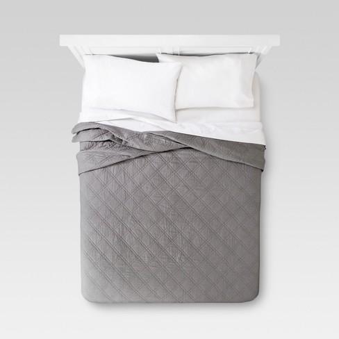 Linen Blend Quilt - Threshold™ - image 1 of 4