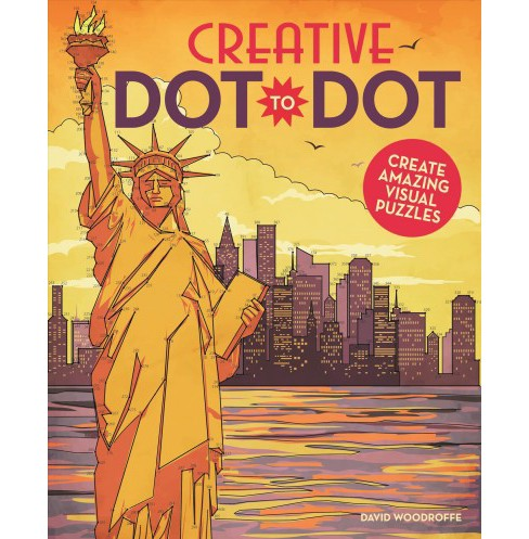 Creative Dot-to-dot : Create Amazing Visual Pictures (Paperback) (David Woodroffe) - image 1 of 1