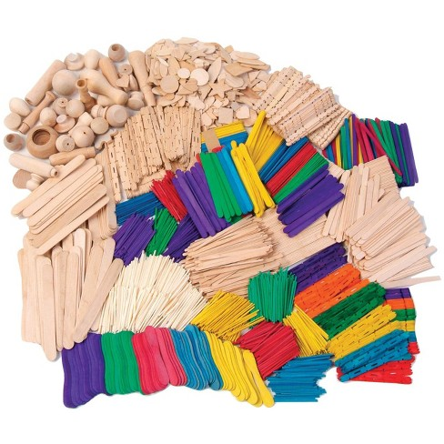 Creativity Street Wood Craft Activity Kit, Assorted Colors, pk of 2000 - image 1 of 1