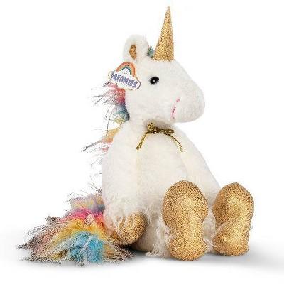"""FAO Schwarz Dreamies Unicorn 13.5"""" Stuffed Animal"""