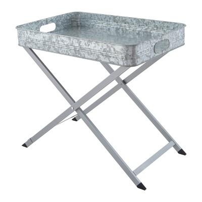 Masonware Folding Tray Stand