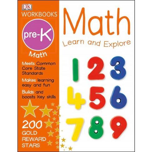 DK Workbooks: Math, Pre-K - (Paperback)