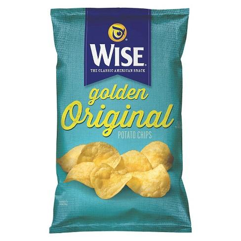 Wise Golden Original Potato Chips - 7oz - image 1 of 1