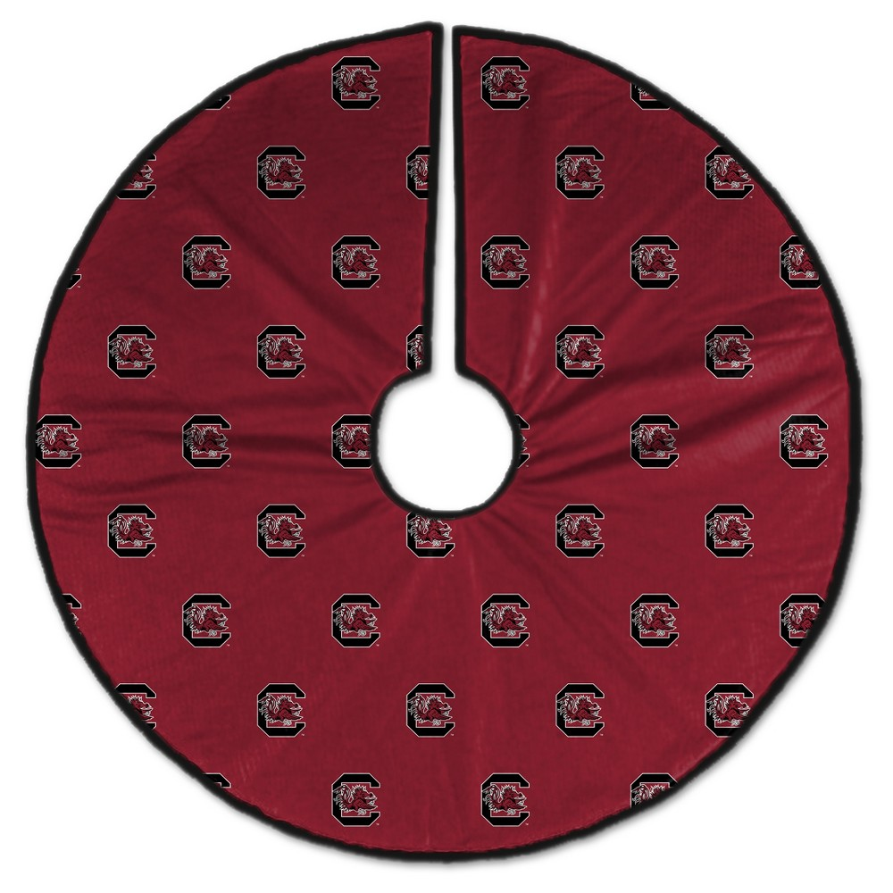 NCAA South Carolina Gamecocks Christmas Tree Skirt