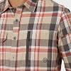 Wrangler Men's Button-Down Shirt - Burnt Ochre - image 3 of 4