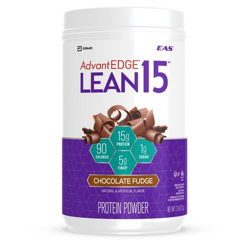 EAS Lean 15 Protein Powder - Milk Chocolate - 1.7lb - image 1 of 4