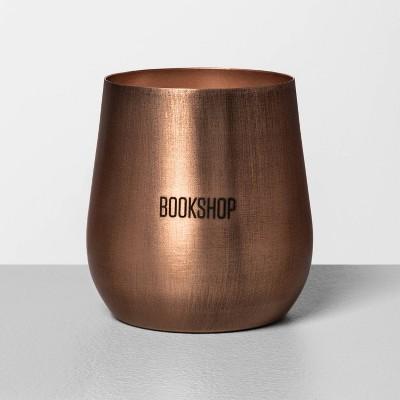12.3oz Seasonal Copper Candle Bookshop - Hearth & Hand™ with Magnolia