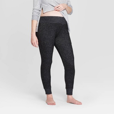 Women's Perfectly Cozy Postpartum Pajama Jogger - Stars Above™ Charcoal M