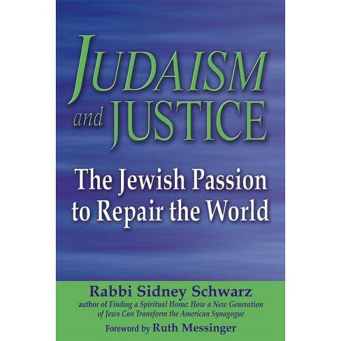 Judaism and Justice - by  Sidney Schwarz (Paperback) - image 1 of 1
