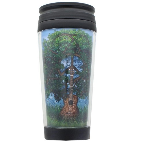 Just Funky Nature Roots 16oz Travel Mug w/ Lid - image 1 of 2