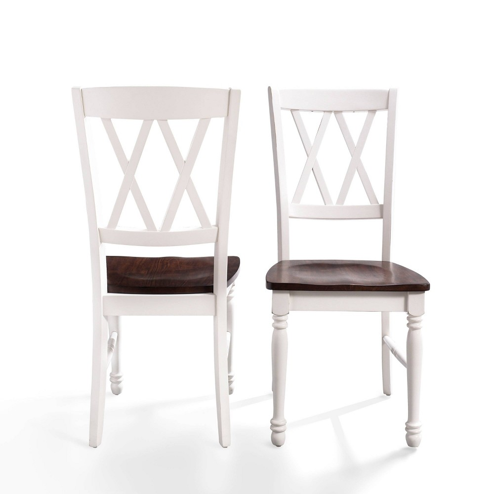 Set of 2 Shelby Dining Chair White - Crosley
