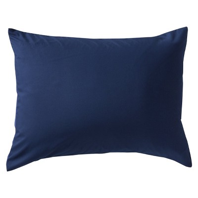 Blue Solid Pillow Sham (Standard)- Room Essentials™