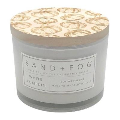 12oz White Pumpkin - Sand + Fog
