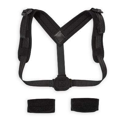 Gaiam Restore Posture Corrector Back Stretcher - Black