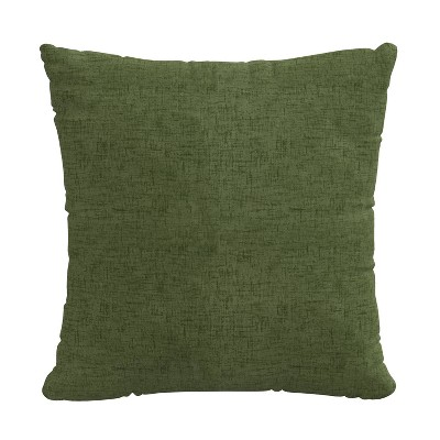 "18""x18"" Click English Polyester Throw Pillow - Skyline Furniture"