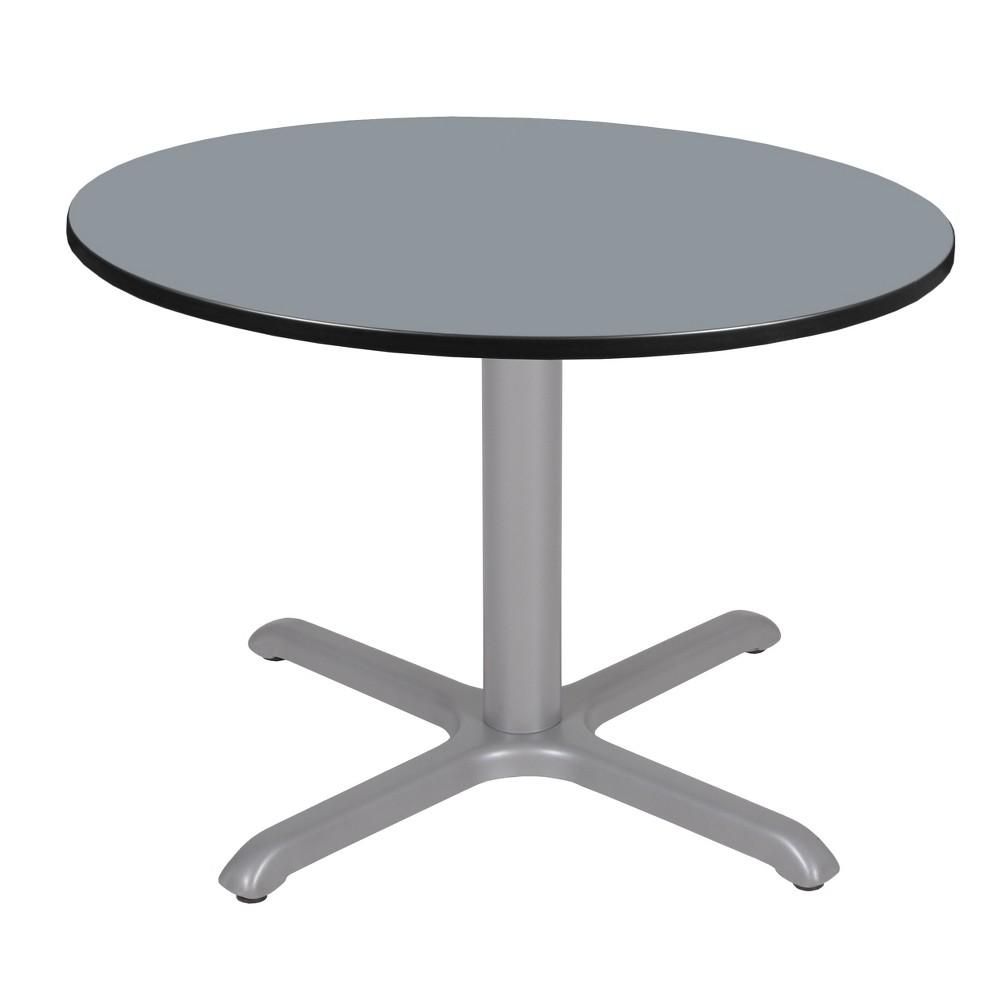 42 Via Round X - Base Table Gray - Regency