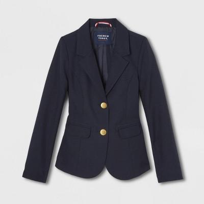 French Toast Girls' Uniform Classic Blazer Jacket - Navy