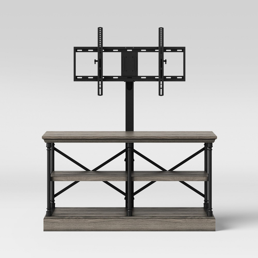Conway Cast Iron TV Stand 3 In 1 Wood - Threshold
