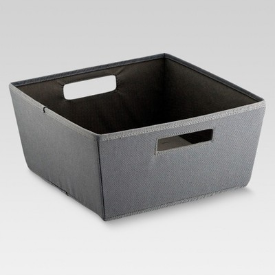 Fabric Half Bin - Gray - Threshold™