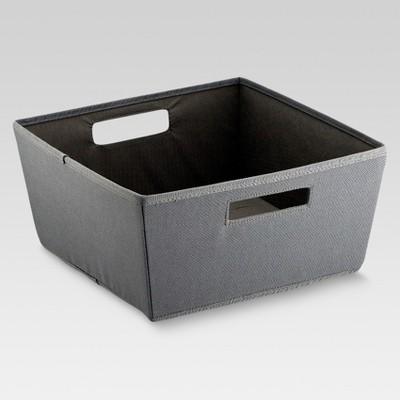 Fabric Half Bin - Gray - Threshold™