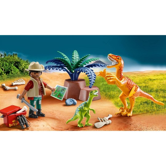 Playmobil Dino Explorer Carry Case image number null