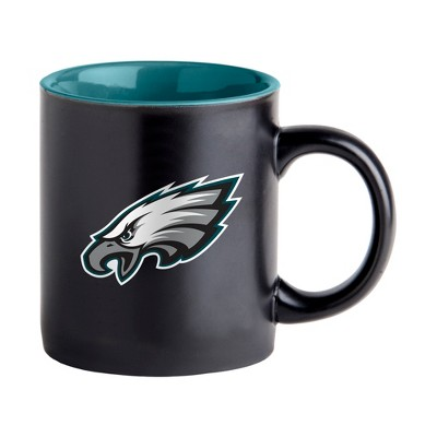 Philadelphia Eagles Black Matte Mug
