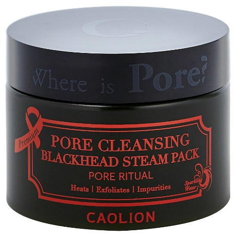 Caolion Pore Cleansing Blackhead Steam Pack 1.76 oz - image 1 of 1