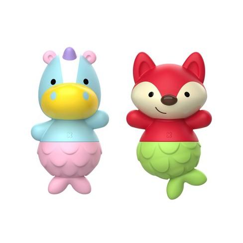 Skip Hop Zoo Mix and Match Flippers Bath Toys - Unicorn/Fox - image 1 of 3
