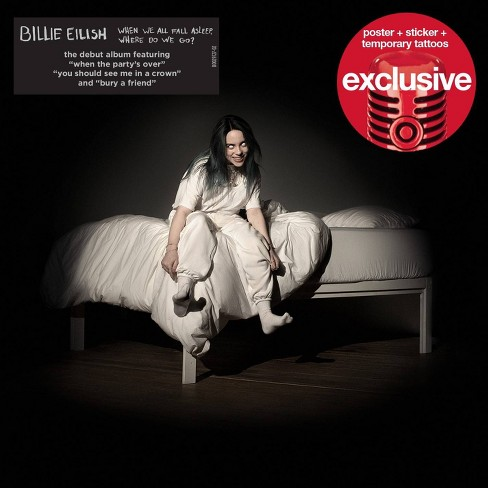 Billie Eilish WHEN WE ALL FALL ASLEEP, WHERE DO WE GO?  (Target Exclusive) - image 1 of 1