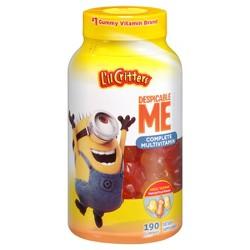 L'il Critters Minions Multivitamin Gummies - Fruit - 190ct