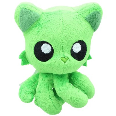 """Tentacle Kitty Little Ones 4"""" Plush: Green"""