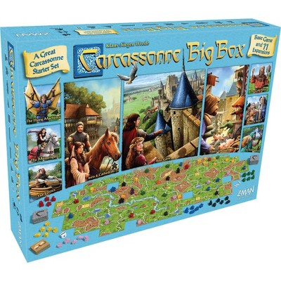 Carcassone Big Box Starter Pack Base Game & Expansions