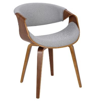 Curvo Mid-Century Modern Dining Accent Chair - LumiSource