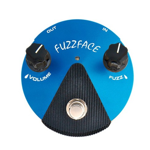 Dunlop Silicon Fuzz Face Mini Blue Guitar Effects Pedal - image 1 of 1