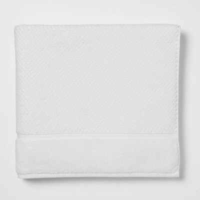 Performance Bath Towel White Texture - Threshold™