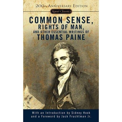 Common Sense, Rights of Man, and Other Essential Writings of Thomas Paine - (Signet Classics) - image 1 of 1