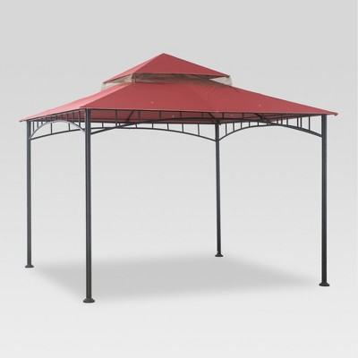 View Photos & Madaga 10u0027 X 10u0027 Replacement Gazebo Canopy - Red - Threshold™ : Target