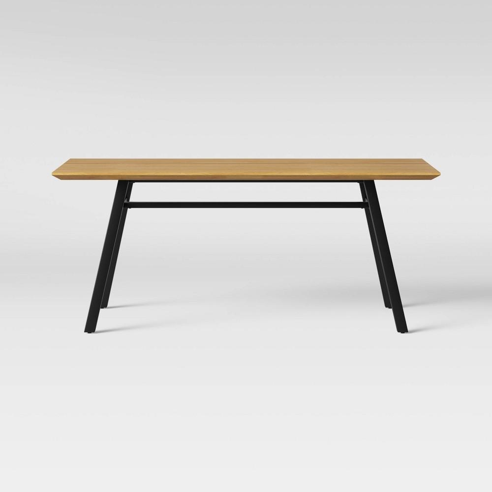 Ellington Metal Base Dining Table Natural - Project 62