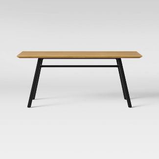 Ellington Metal Base Dining Table Natural - Project 62™