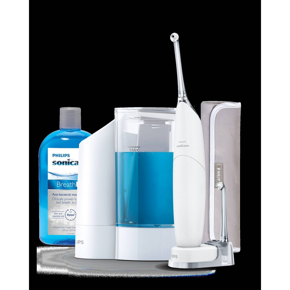 Image of Philips Sonicare AirFloss and Philips Sonicare AirFloss Fill & Charge Station Combo Pack