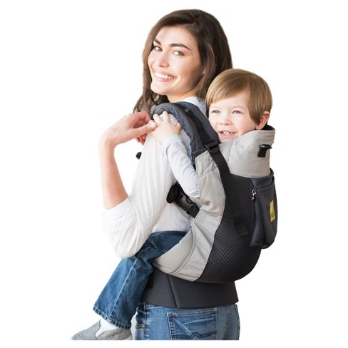 Lillebaby Carryon Airflow Carrier Charcoal Silver