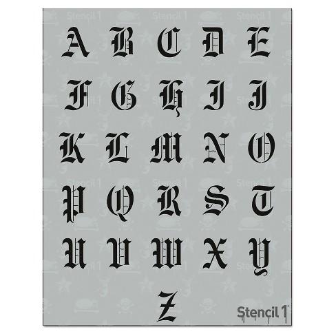 Stencil1® Old English Font 2