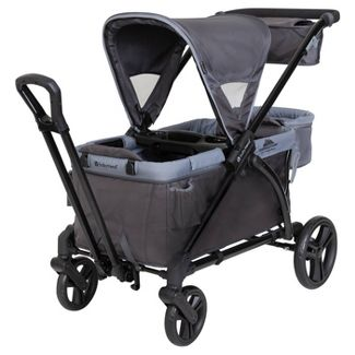 Baby Trend Expedition 2-in-1 Stroller Wagon Plus - Ultra Gray
